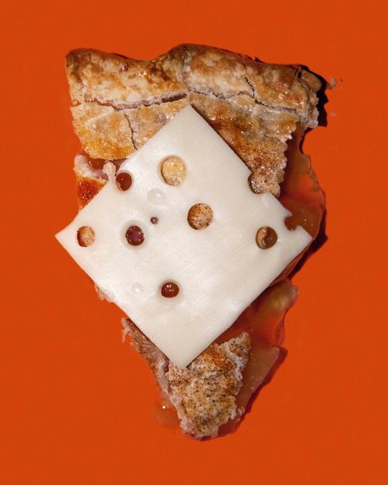 Штат Висконсин. Запрещено подавать яблочный пирог без сыра.