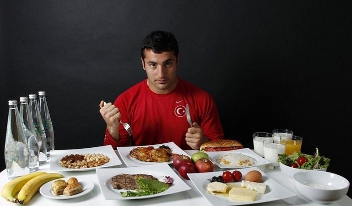 Ежедневный рацион Fatih Avan во время подготовки к Олимпиаде