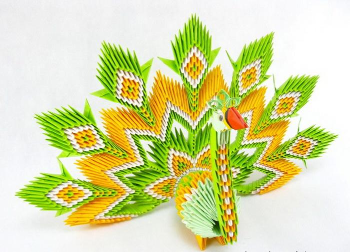Модульное оригами от Петра Соколовски