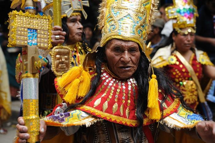 Карнавал Оруро - самое яркое событие в культурной жизни Боливии