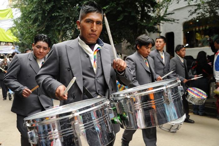 Оркестры на карнавале Оруро