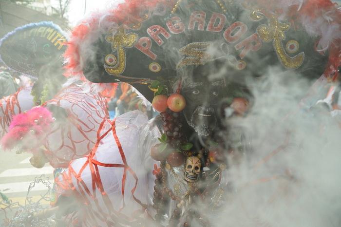 Традиция карнавала Оруро сохранилась с доколумбовых времен