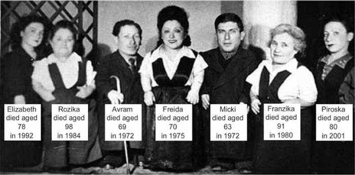 Члены семьи Овиц.