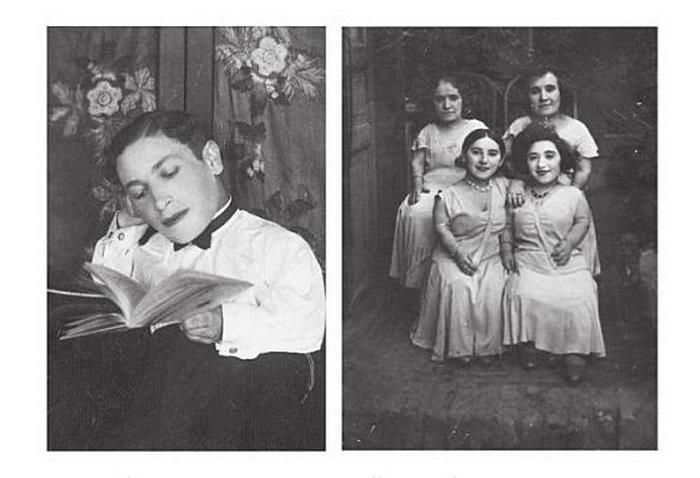 Семья Овиц - карлики-музыканты, пережившие нацистский концлагерь.