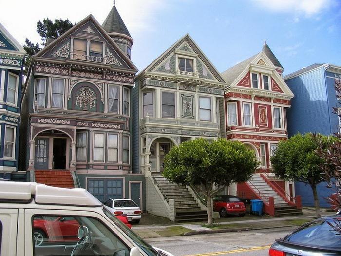 Painted Ladies: дома викторианской эпохи в Сан-Франциско