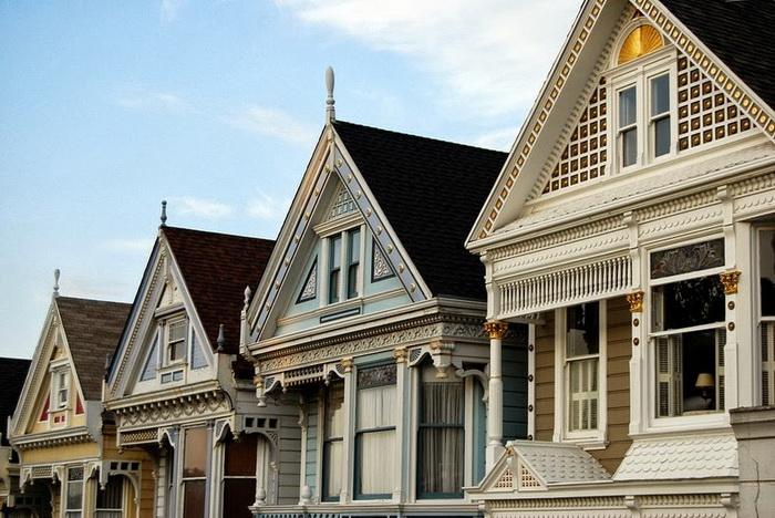 Большинство домов было построено в конце 19 века