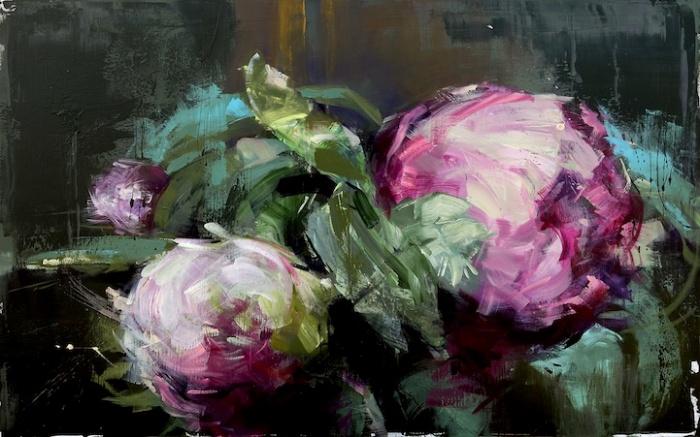 Цветы на картинах Кармело Бландино (Carmelo Blandino)