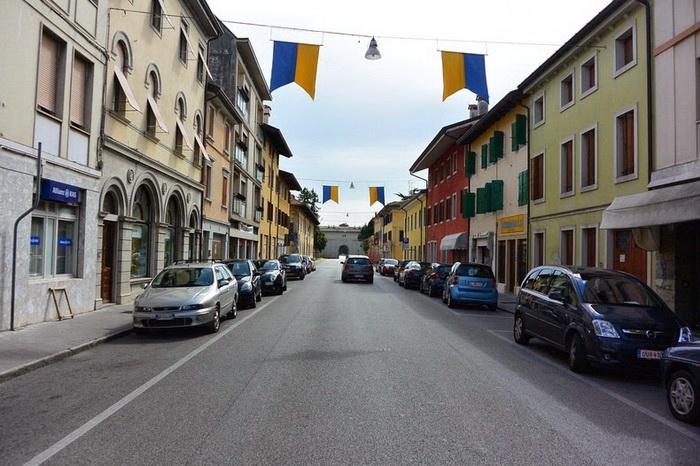 Одна из симметричных улиц