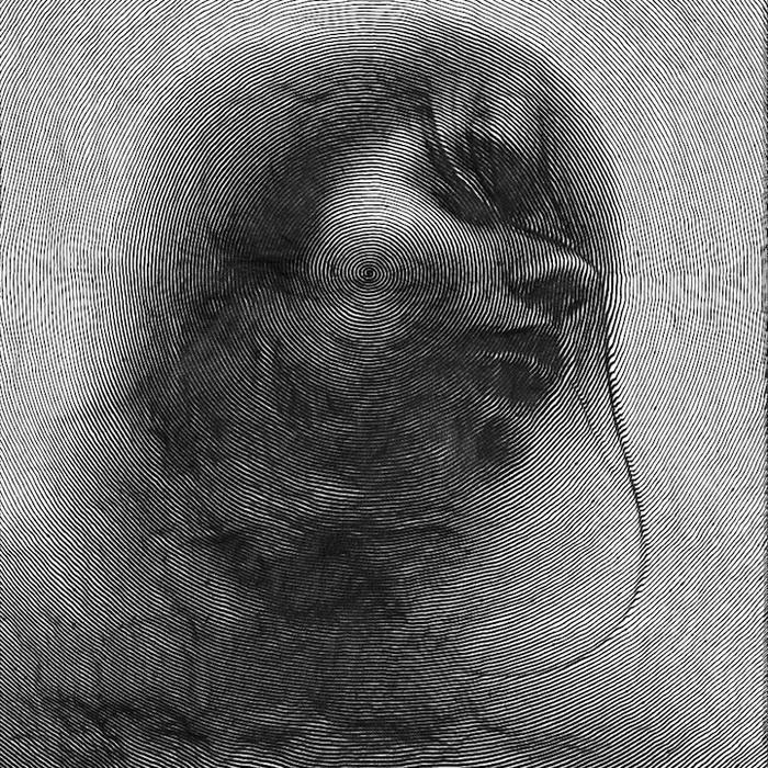 Рисунки Paolo Ceric, напоминающие отпечатки пальцев