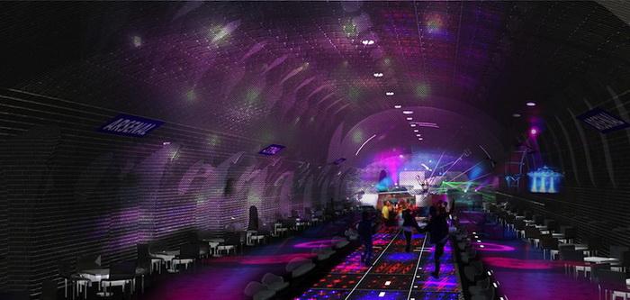 Возможный проект реконструкций заброшенных станций парижского метрополитена