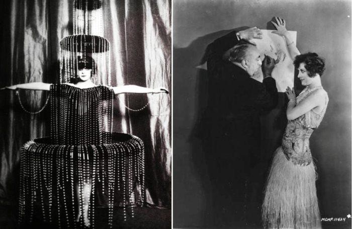 Фэшн-фотосессиия моделей Поля Пуаре.