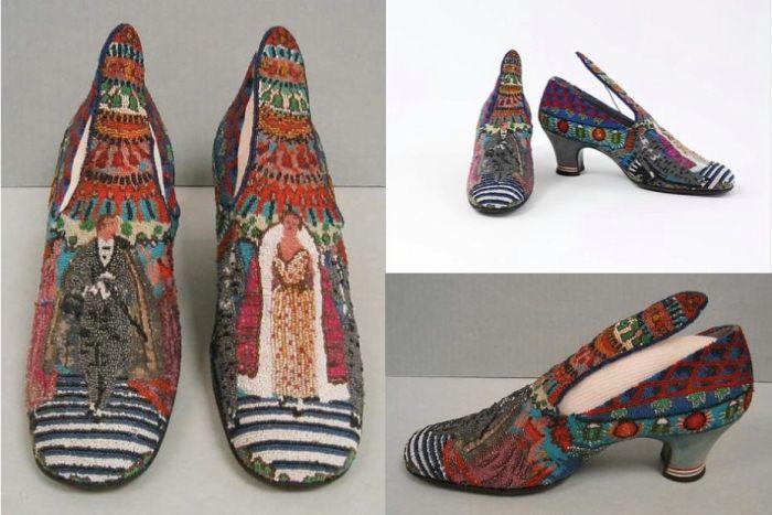 Туфли от дизайнера Поля Пуаре.
