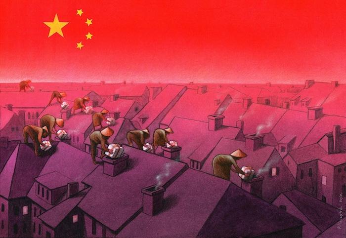Политическая карикатура от Павла Кучински