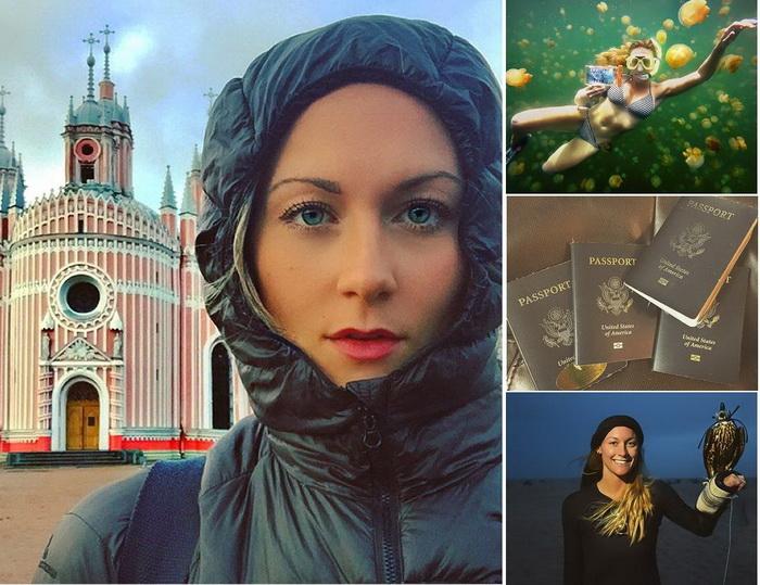 Кассандра де Пеколь - самая молодая и быстра путешественница в мире