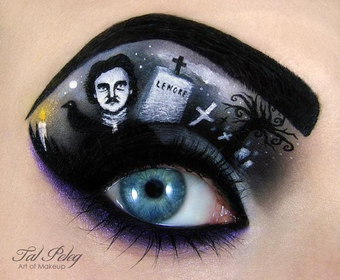 Оригинальный макияж от Тал Пелег (Tal Peleg)