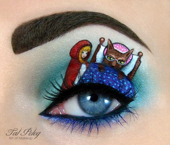 Красная Шапочка: макияж от Тал Пелег (Tal Peleg)