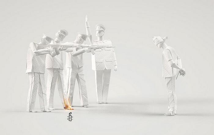 Бумажные скульптуры от арт-тандема *Тоже люди*