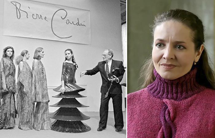 Светлана Клюева - советская манекенщица, которая работала с Пьером Карденом.