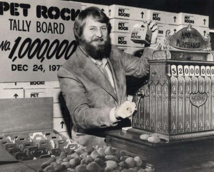 Гэри Росс Даль - продавец камней