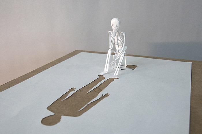 Бумажные скульптуры датского художника Питера Каллесена