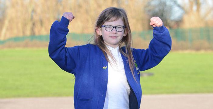 Оливия Фарнсворт - школьница, которая не чувствует боли