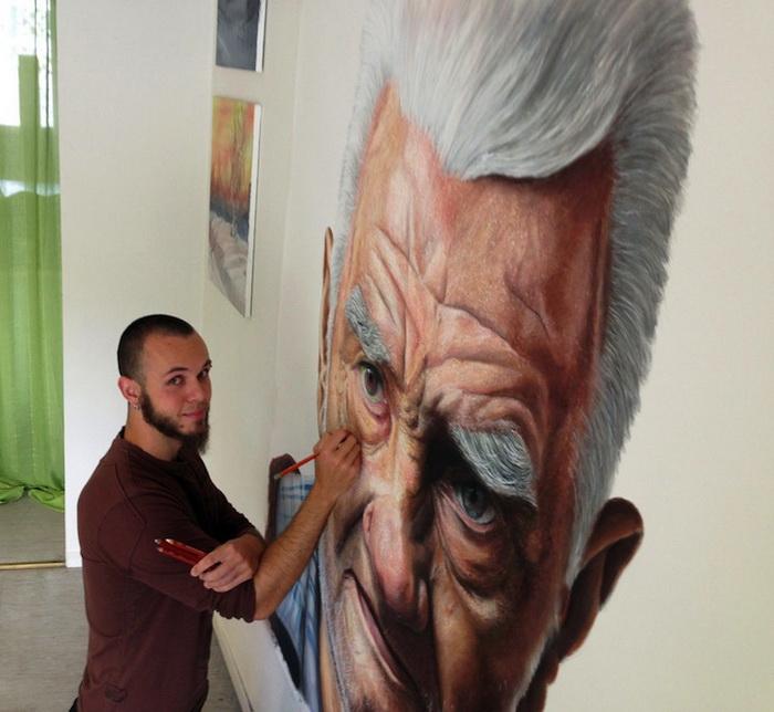 Гиперреалистические портреты ближайших родственников от Дино Томика (Dino Tomic)