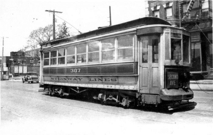 Трамвайи Steinway.