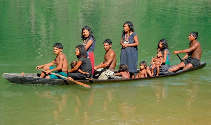 Индейцы пираха - первобытный народ Бразилии