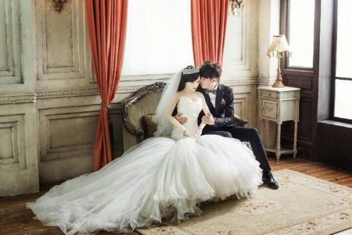 Нежные и трогательные свадебные фотографии