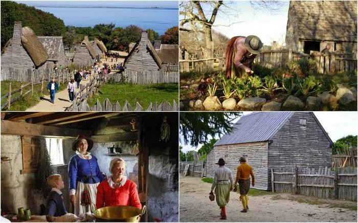 Плимутская плантация - американский этнографический музей
