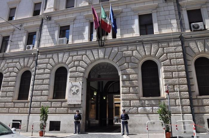 Отделение полиции в Риме