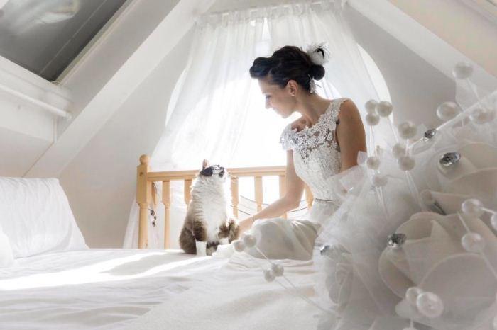 Свадебные фотографии от Марианны Зампрейри.