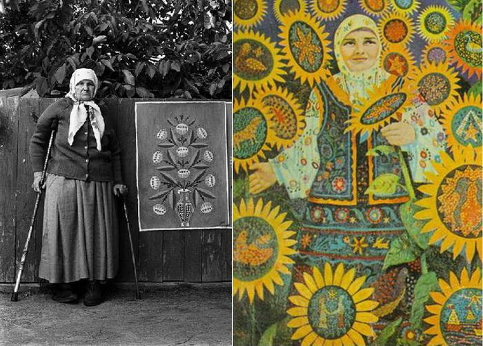 Мария Примаченко - известная украинская художница