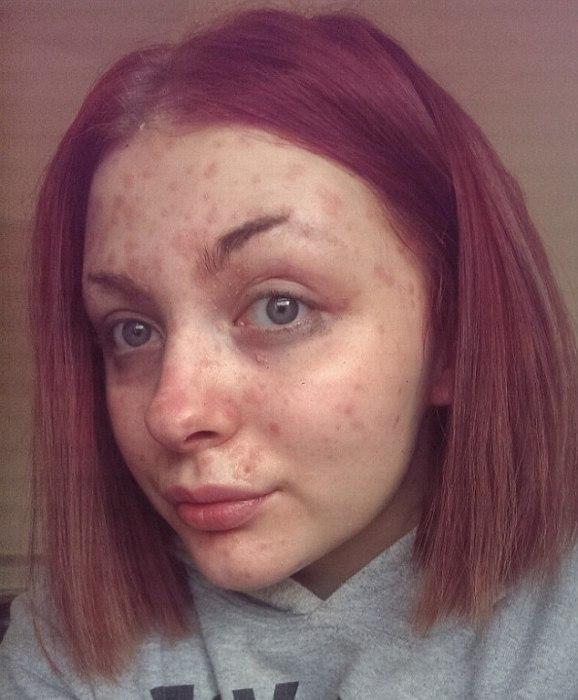 София Ридлингтон без макияжа