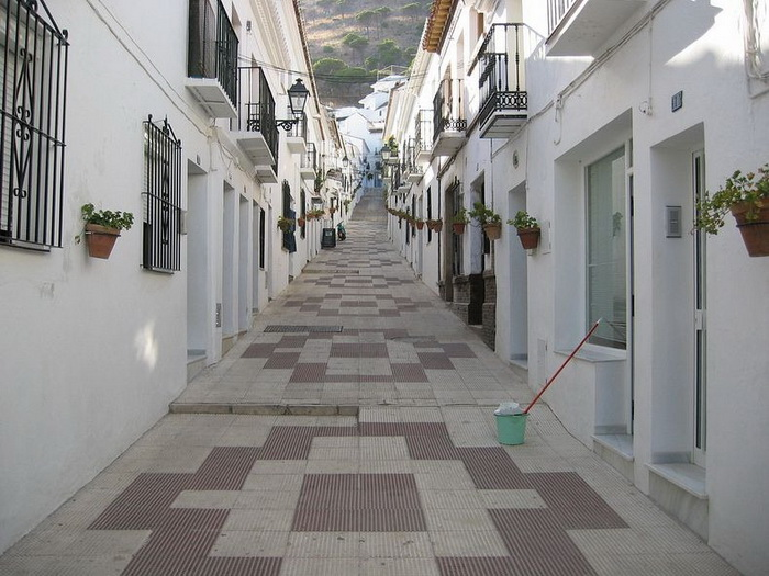 Белые деревни в Андалусии