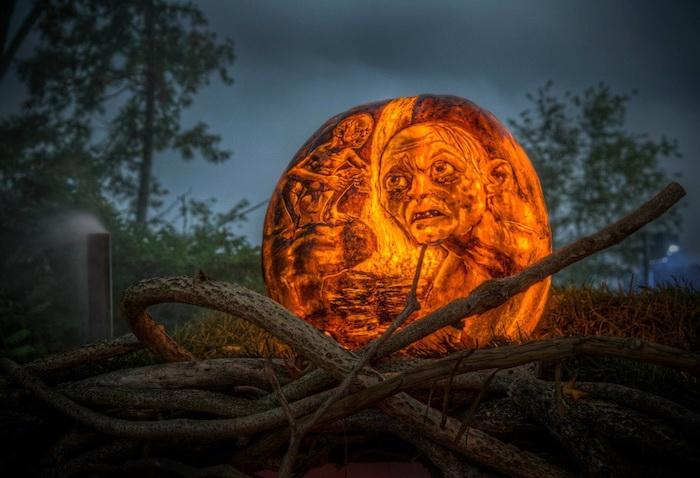 Светильники Джека: ежегодное празднование Хэллоуина в парке Roger Williams Park Zoo (Род-Айленд, США)