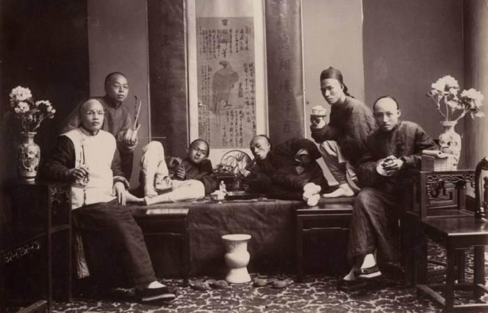 Курильщики опиума, 1880 г.