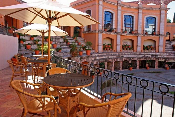 Отель Quinta Real в городе Сакатекас (Мексика)
