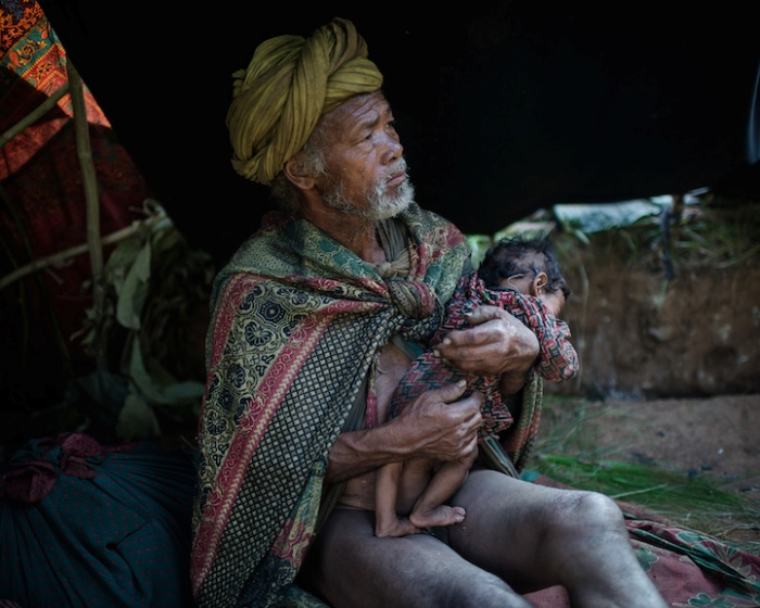 Исчезающее племя рауте