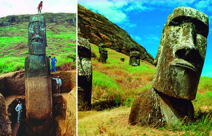 Загадка древних цивилизаций острова Пасхи.