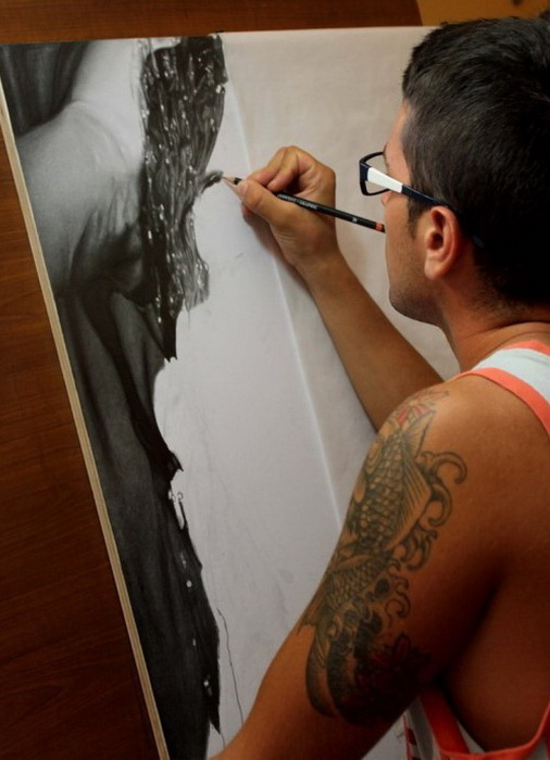 Фотореалистические портреты итальянского художника Диего Фазо