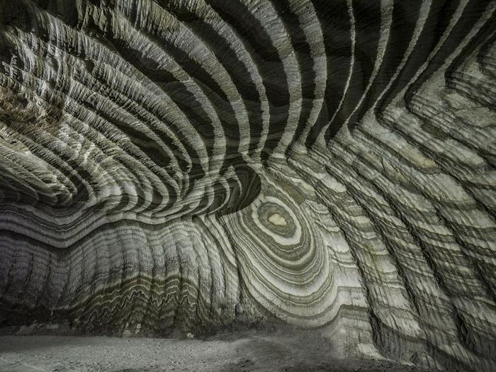 Реальмонте - действуящая соляная шахта