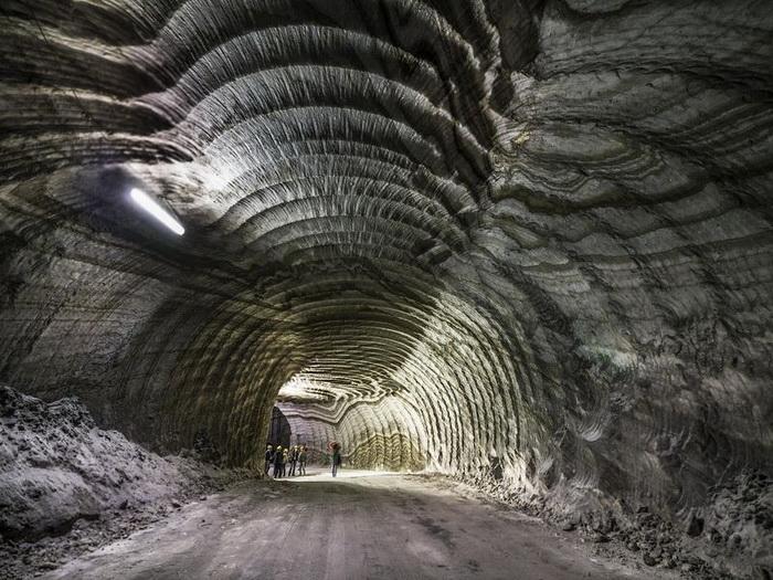 Соляная шахта Реальмонте - популярный туристический объект