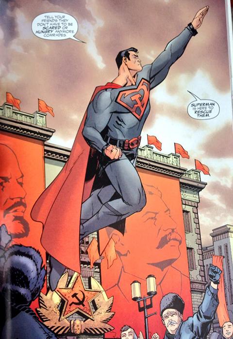 Комикс *Супермен. Красный сын*.