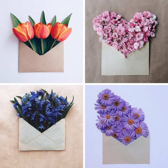Нежные цветочные послания на фотографиях Анны Ремарчук