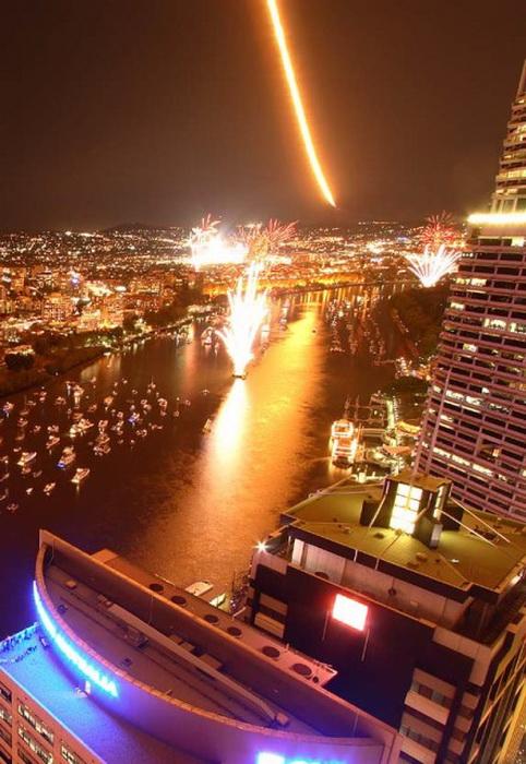 Фестиваль Riverfestival в Брисбене, Австралия