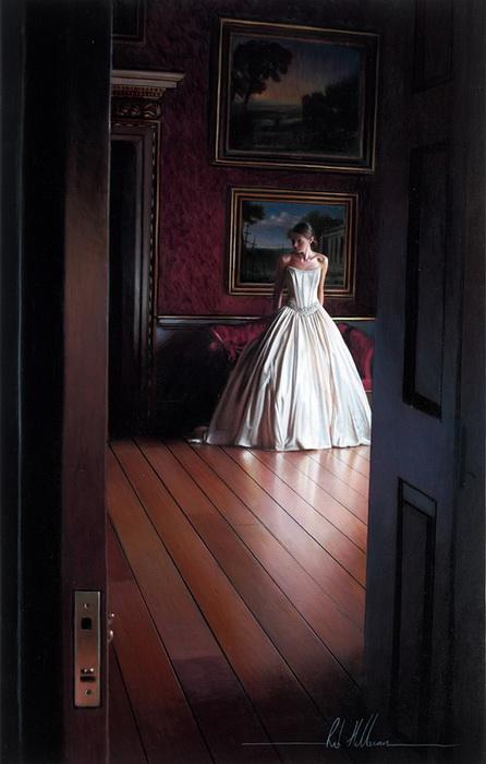 Гиперреалистические свадебные картины от Rob Hefferan