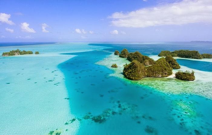 Республика Палау: зеленые острова и голубые лагуны