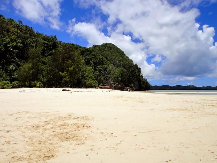 Палау славится белоснежными пляжами