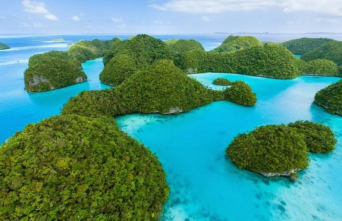 Острова Палау - рай на земле